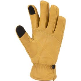 Sealskinz Waterproof Cold Weather Work Guanti con Fusion Control, giallo